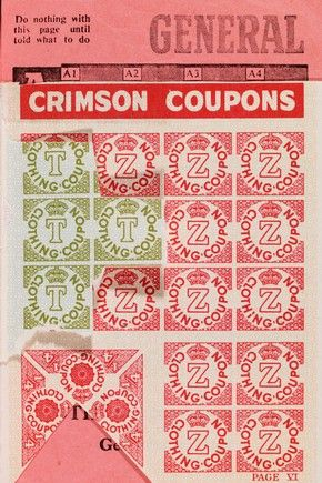 Image result for coupons to buy clothes after the war