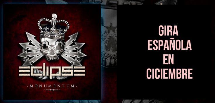 Desde la sección de noticias de Rock and Blog podemos confirmar las siguientes fechas de conciertos de Eclipse en España Ya nos comentaron en su entrevista que tenían pensado hacer una gira de otoño-invierno por salas. Pues bien, ya tenemos las fechas de sus conciertos en España para este...