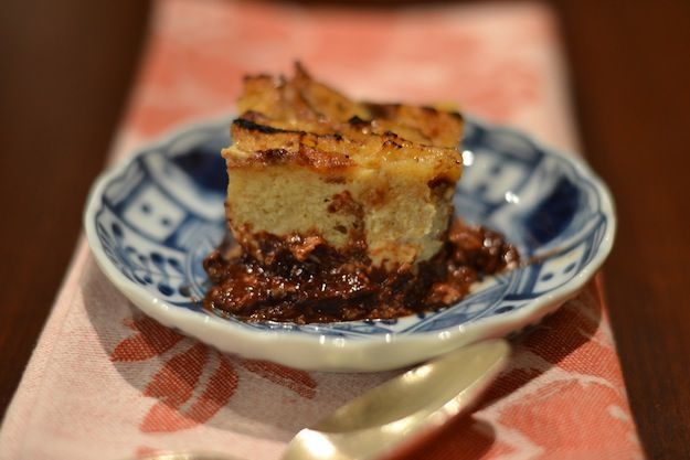Chocolate Bread Pudding with Cinnamon | Breakfast | Pinterest