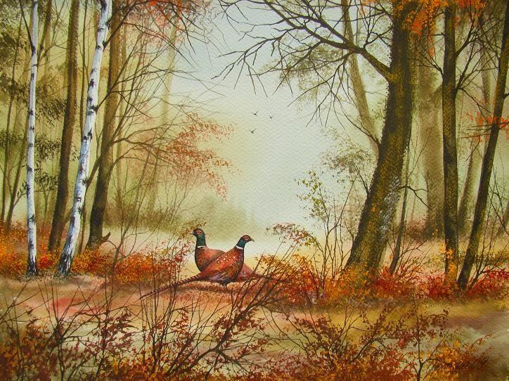 W LEŚNYM GĄSZCZU zoom digart.pl Painting, Art