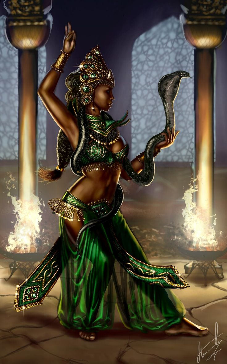 """Dance with death"".   the work took about 16 hours. I use to draw app ""Sketch"" (""Танец со смертью"". работа заняла около 16 часов. рисовала в приложении "" Набросок "")#snake #dance #fire #cobra"