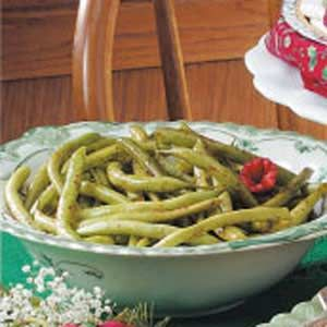 Seasoned Green Beans - I used Cajun seasoning mix instead of the Chili Powder.  Very tasty and an easy way to change up green beans.