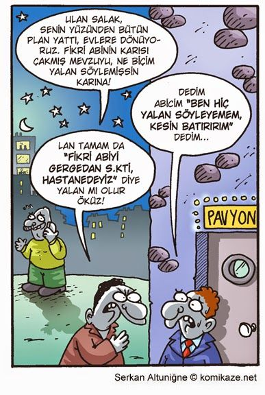 Karikaturiks | Gülümse biraz.!: Yalan Söyleyemem :))