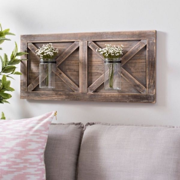 40 Unique Rustic Wood Wall Decor Ideas For Every Room Rustic Wood Wall Decor Rustic Wood Walls Farmhouse Wall Decor