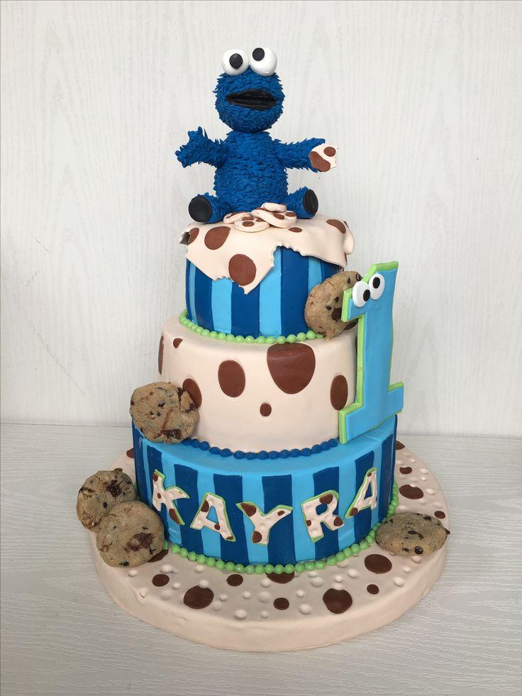 Kurabiye canavarı  Cookiemonster cake  İlkay Tuğba Umut Umutbutikpasta