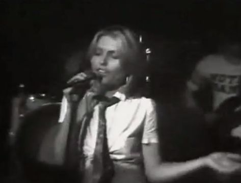 Blondie's debut album 1976 More Rock Music Info at http://www.rss6.com/rock-music-info