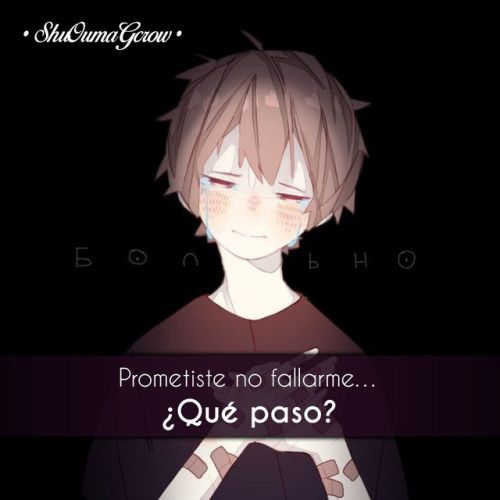 anime frases anime frases sentimientos ShuOumaGcrow