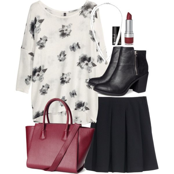 """""""Lydia Inspired H&M Outfit"""" by veterization on Polyvore"""
