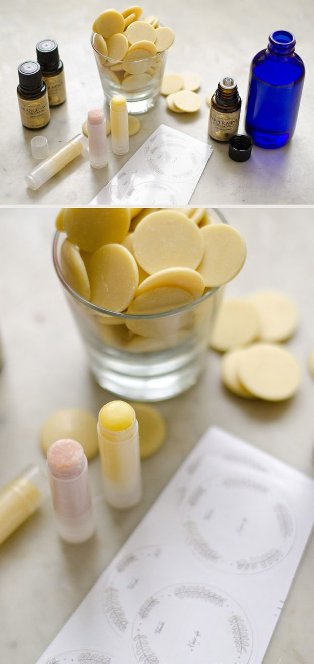Personalized Lip Balm (for a Winter Wedding) | 42 Wedding Favors Your Guests Will Actually Want