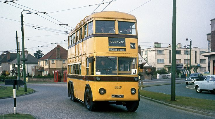 Trolley Bournemouth 1969