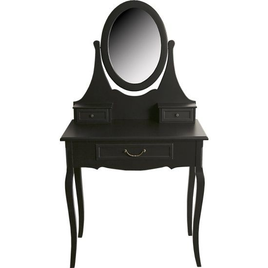 Bella sminkbord svart | Byråer - Förvaring | Chilli.se