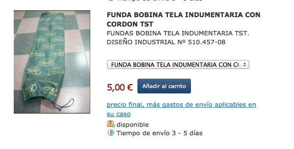 Fundas para Bobinas