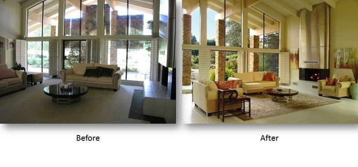 Before and after home staging pictures home staging for Before and after home staging