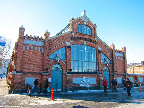 The precious Oulu Market Hall in North Ostrobothnia. Beware of stepping into this building, you can´t avoid to buy tons of delicious food!