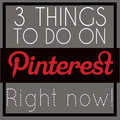 """3 Things Pinterest Users Should Do Right Now ~ Another awesome article by Katja Presnal with the biggest take away being that you need to register your business account NOW in order to avoid url overload.  You can also link your business account as a """"user"""" to your personal account."""