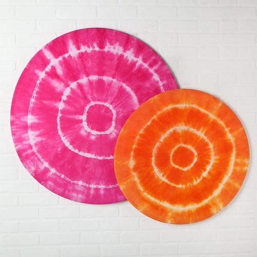 Hula Hoop Wall Art - A Little Craft In Your DayA Little Craft In Your Day
