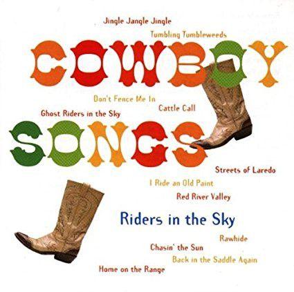 Riders In The Sky : Cowboy Songs CD