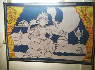 Art ,Craft ideas and bulletin boards for elementary schools: Diwali Bulletin Board