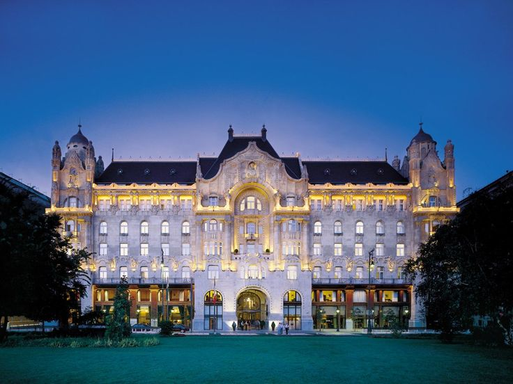 Four Seasons Gresham Palace, Budapest #YoureSuchABudaPest #OPIEuroCentrale #AllAboutTheColor