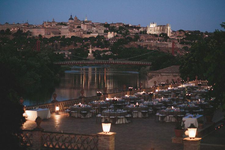 Terraza del Río #banquete #boda #Toledo #Madrid #Cigarral