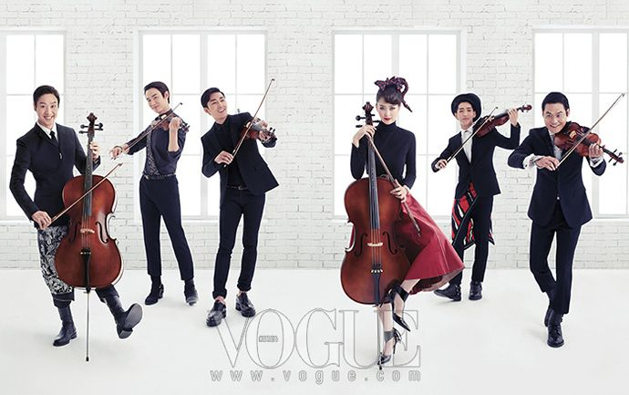 The gang of Reply 1994---Go Ara, Jung Woo, Yoo Yeon Seok, Kim Sung Kyun, Son Ho Joon, Min Do Hee, and Baro---put on some sharp clothes and bust out their instruments to serenade readers with their ...