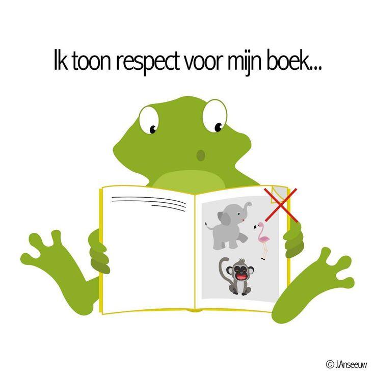 respect voor mijn boek
