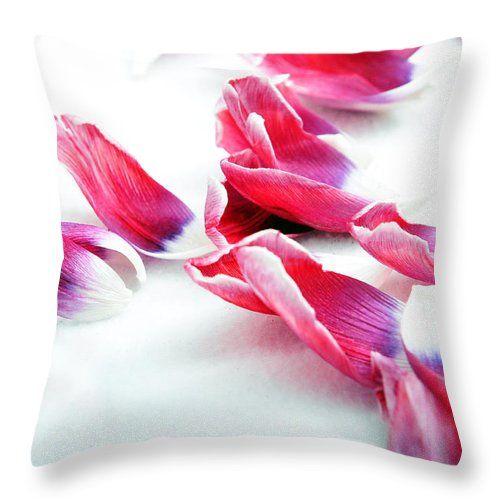 Disintegrated Beauty Throw Pillow by Randi Grace Nilsberg