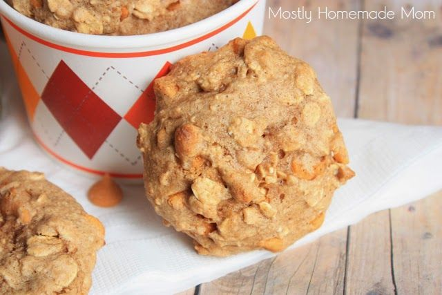 Mostly Homemade Mom - Oatmeal Butterscotch Spice Cookies  www.mostlyhomemademom.com