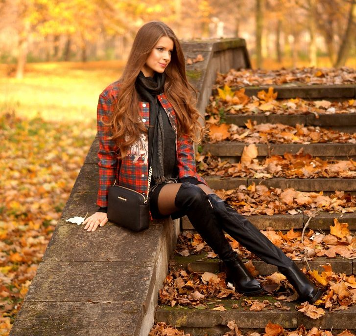 Only My Fashion Style Czerwona Krata Jurken Pinterest Fashion Styles My Fashion And Fashion