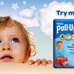 Free Huggies Pull-Ups - Gratisfaction UK Freebies #babystuff #nappies #huggies