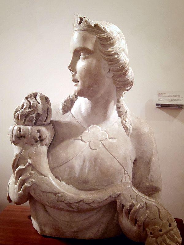La Sybille TINO DI CAMAINO (Siena, 1285 circa – Napoli, 1337 circa) Firenze Museo dell'Opera del Duomo     #TuscanyAgriturismoGiratola