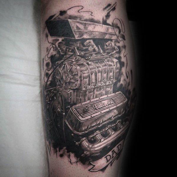 50 Engine Tattoos For Men Motor Design Ideas Engine Tattoo Tattoos For Guys Tattoos