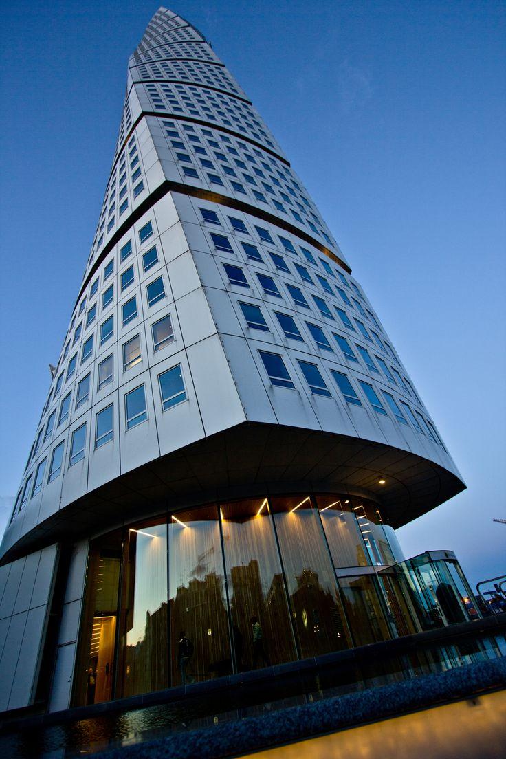 Der Turning Tower in Malmö aus besonderer Perspektive