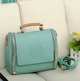 Free shipping Womens Leather Crossbody Shoulder Bag Tote Handbag Messenger Satchel Medium Evening Bag Casual Clutch bag US $13.90