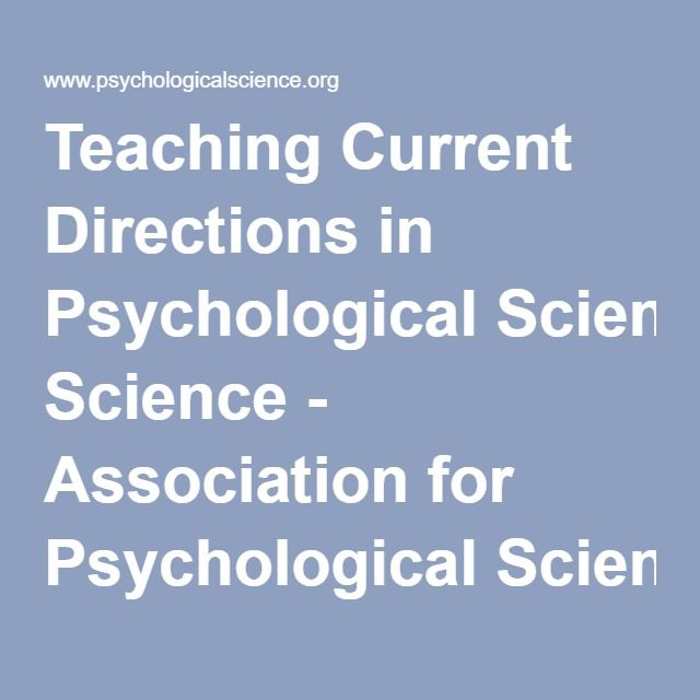 team biulding and group work ecercise. Teaching Current Directions in Psychological Science - Association for Psychological Science