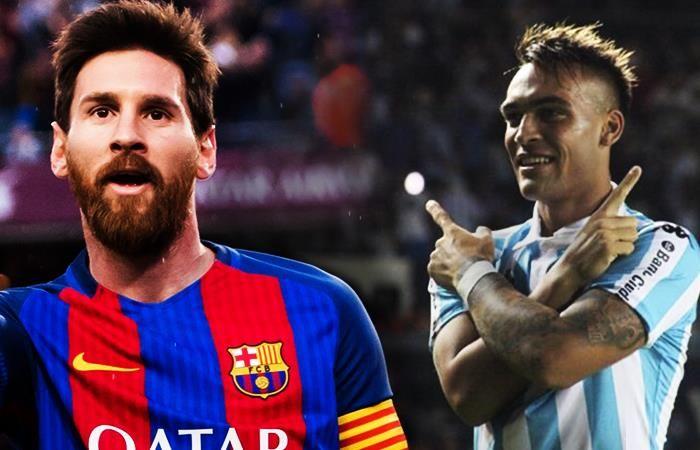 Lautaro Martínez Con Messi me cansaría de hacer goles