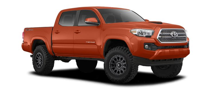 Tacoma Trd Sport >> 2017 TOYOTA TACOMA DOUBLE CAB TRD SPORT - 3 INCH LIFT ON 17