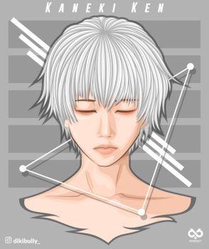 Kaneki Tokyo Ghoul FanArt (1) by Dikibully