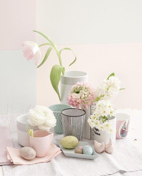 Decorazioni di Pasqua in colori pastello - Pasqua - [Vivere Meglio]