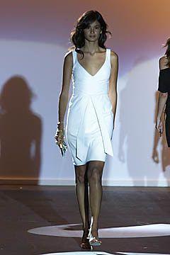 Badgley Mischka Spring 2001 Ready-to-Wear Fashion Show - Mark Badgley, Caroline Ribeiro
