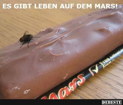 Es gibt Leben auf dem Mars | DEBESTE.de, Lustige Bilder, Sprüche, Witze und Videos