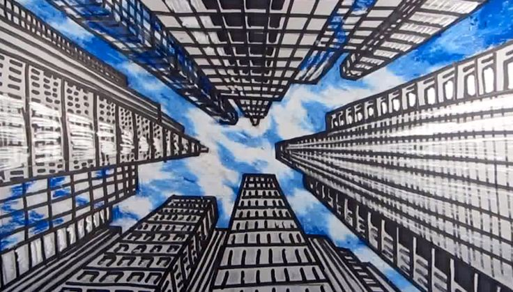 Your drawing is looking up…. in 2019 | Perspective art ...