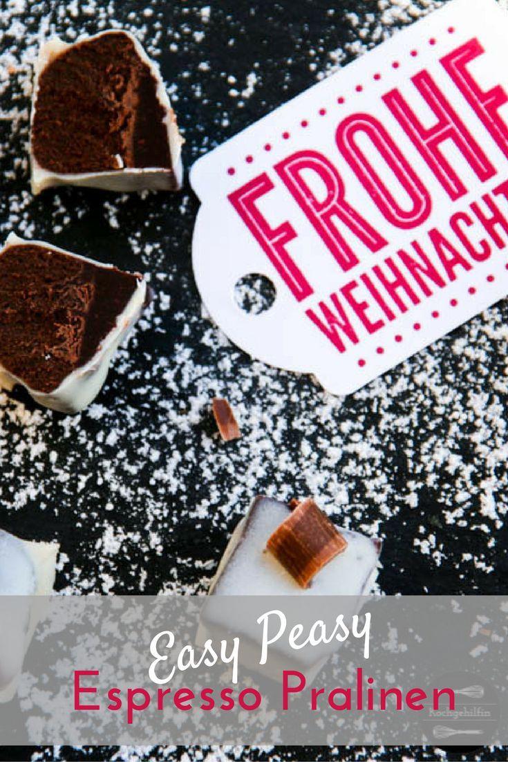 Easy Peasy Espresso Pralinen - Die perfekte Last Minute Geschenkidee für Weihnachten