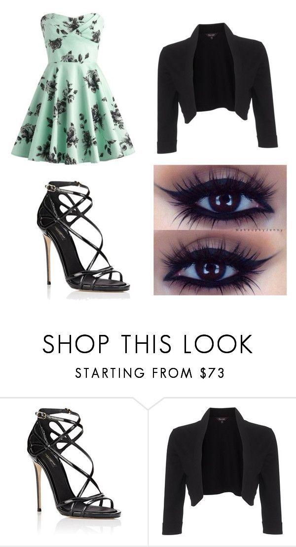 """Night club"" by toftesam ❤ liked on Polyvore featuring Dolce&Gabbana and Phase Eight"