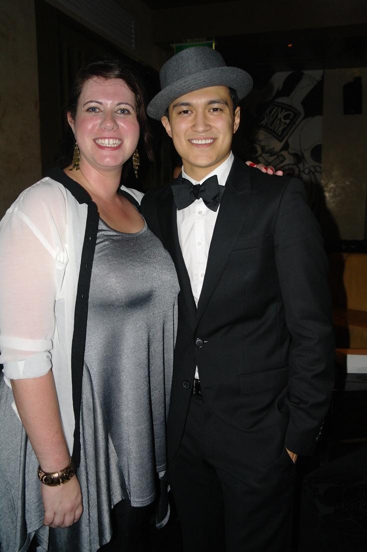 Julian's 21st - with Shona Porter