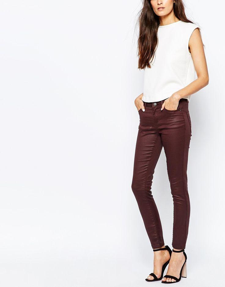 Image 1 ofVero Moda Coated Jean