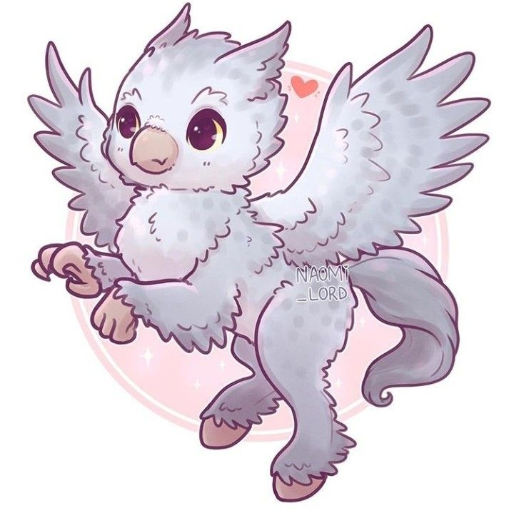 Hippogriff Dibujos Kawaii Anime De Harry Potter Dibujos Bonitos