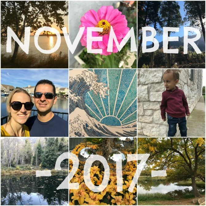 November is just about finished, and what a month it has been! We kicked off the month with one family trip, and ended with another (much longer) one—it felt like we were gonemore than we wer…
