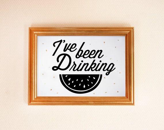 Affiche imprimé Drunk in Love Beyoncé