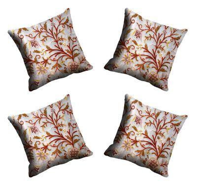 Me Sleep Chain Stitch Cushion Cover Cdek 10 4 Cream Cushion Covers on Shimply.com